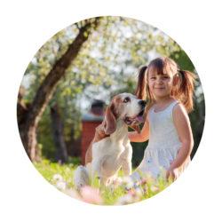 Familie & Hund